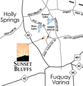 Fuquay Varina Zip Code Map.About Sunset Bluffs